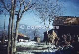 operazione-riva ridge anno 1945 color foto