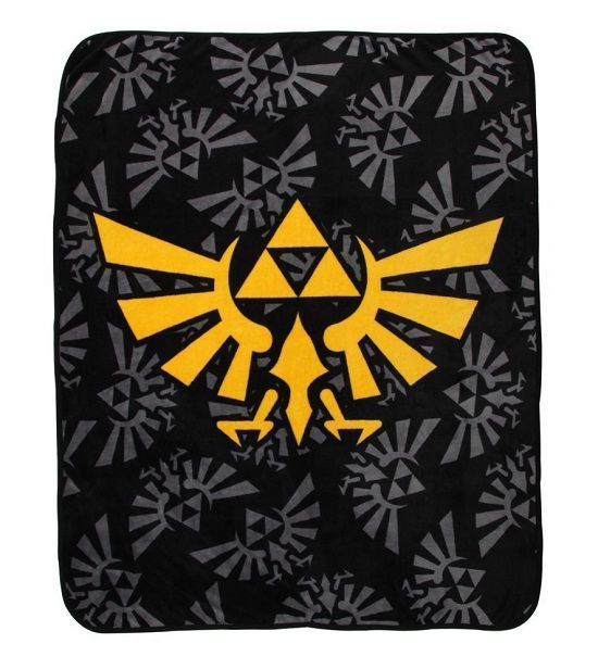 The Legend Of Zelda Logo Throw Blanket