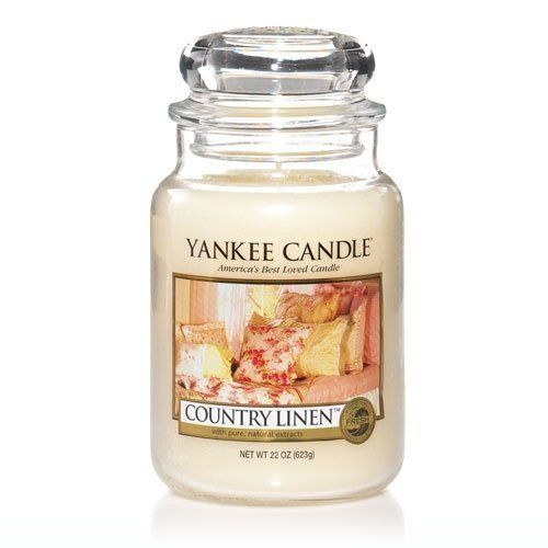 Yankee Candle Country Linen Large Jar Candle 22 oz by Yankee *** Learn more by visiting the image link. #JarCandle