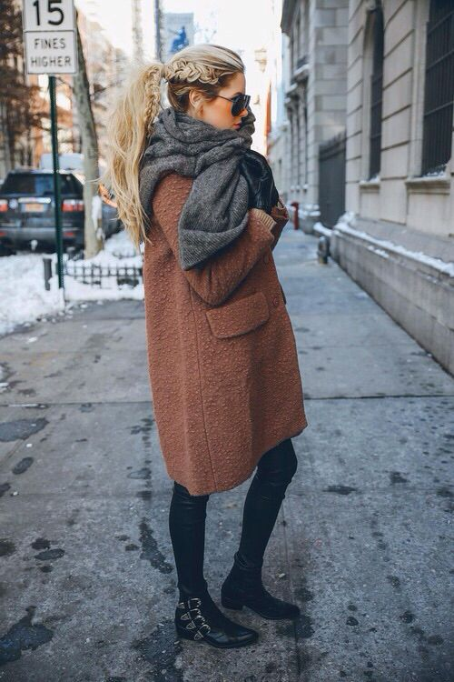Hair and coat