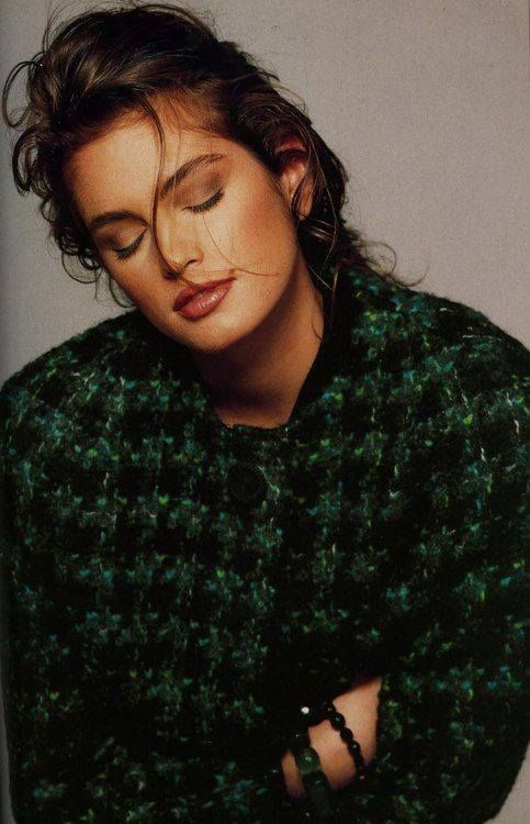 All cozy... -   Cindy Crawford