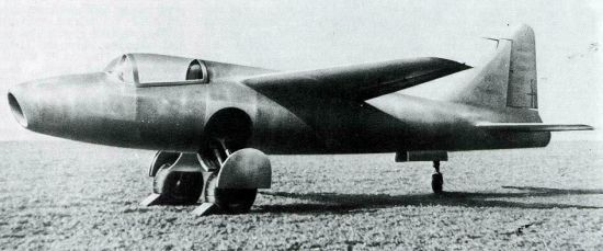 The jet engine was patented in 1930 by a young British Royal Air Force pilot, Frank Whittle (later Sir Frank). He had great difficulty convincing anyone that it would be useful. Things were different in Germany. When Hans von Ohain thought up a similar engine, it was immediately taken up by a major place company. The first jet plane, a Heinkel HE-178, flew from a German airfield in 1939, two years before the first British jet flight.