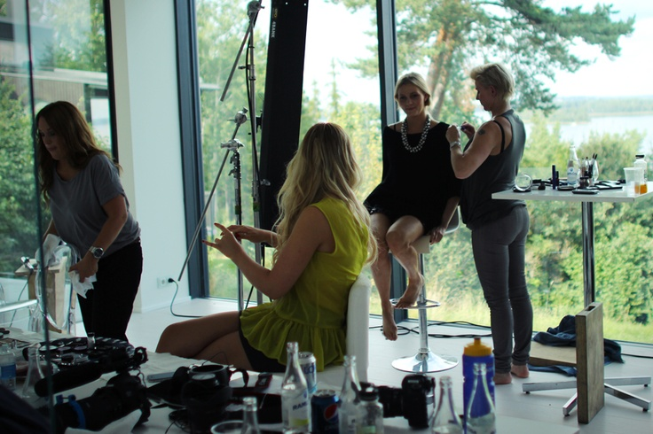 Behind the Scenes! Yves Rocher - AutumnLooks 2012