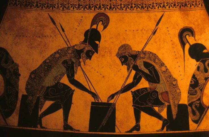 ancient afro Achilles | http://www.usu.edu/markdamen/1320Hist&Civ/slides/03epic/achillesajax ...