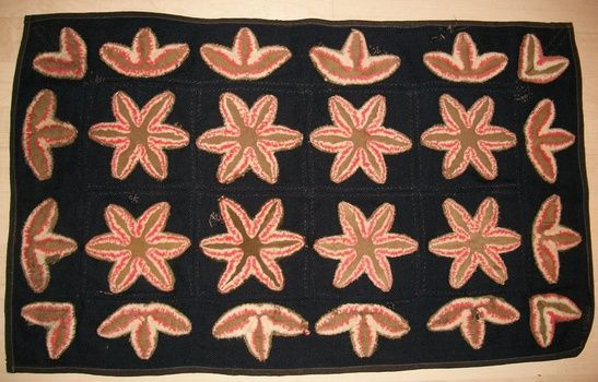 Folk Art Handmade Victorian Rug | Collectors Weekly