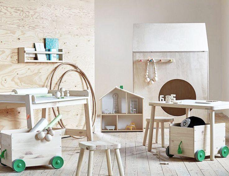 IKEA FLISAT Under april lanserar IKEA en helt ny barnkollektion vid namn FLISAT tillverkad i furu och lämpad för barn mellan 3 och 12 år. Är dom inte bedårande? Möjligheterna är oändliga och det bästa är väl ändå att produkterna är lätta att måla/dekorplasta i valfri kulör och att materialet erbjuder en lång livslängd. Kolla in kojan där bakom liksom? Heja @ikeasverige! #ikea #news #nyheter #furu #barnrum #barnrumsinspo #inredning #kidsroom #kidsdecor #kidsinterior #flisat #ikeaflisat…