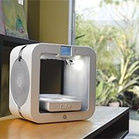 The EKOCYCLE Cube® 3D Printer: Make Anything Using Recycled Plastic Bottles.