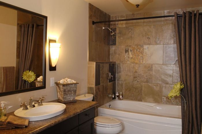 Salas con pisos de ceramica ba os 500 fotos de cuartos - Tendencias en cuartos de bano ...