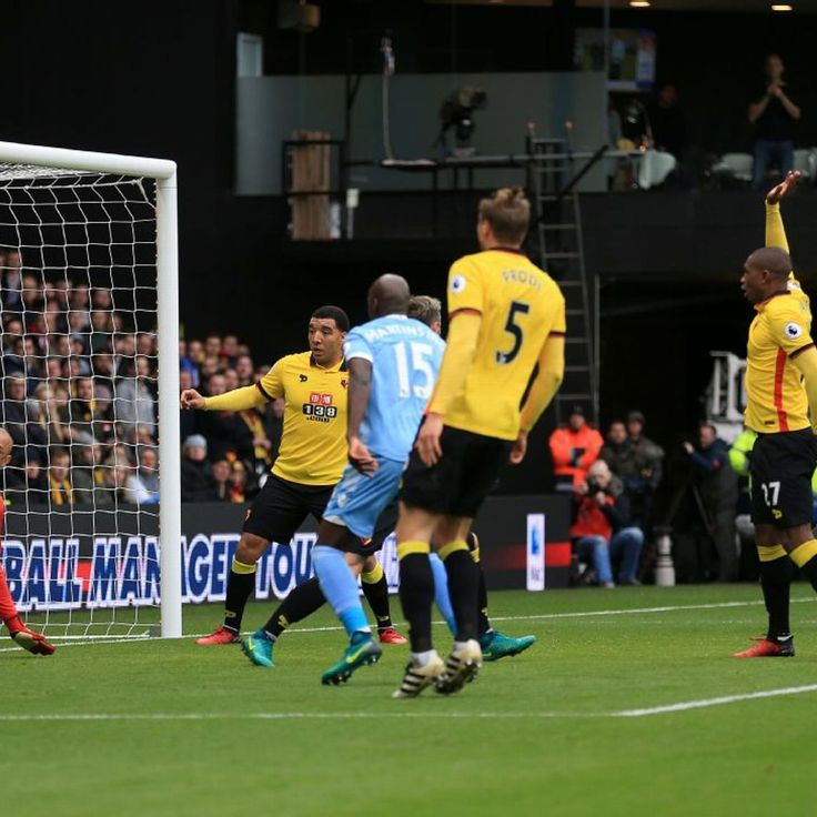Watford's woe with Heurelho Gomes own goal and Miguel Britos red