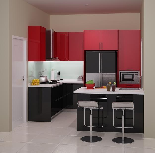 Harga 70 Model Gambar Kitchen Set Minimalis Desainrumahnya Com Di 2020 Dekorasi Minimalis Ruang Keluarga Minimalis Minimalis