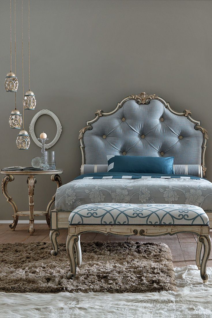 Find the most divine selection of Luxurious Designer Italian beds at Juliettes Interiors...