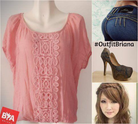 Un outfit #fashion y con #estilo , sólo en BRIANA. #outfitbriana.