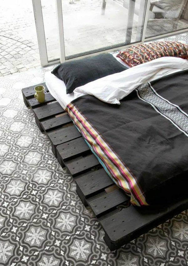 bett selbst bauen diy möbel im asiatischen stil