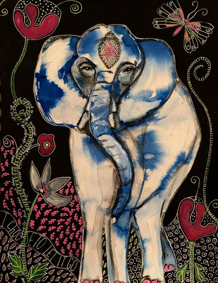 Wise Elly by Jeanette MacDonald Art