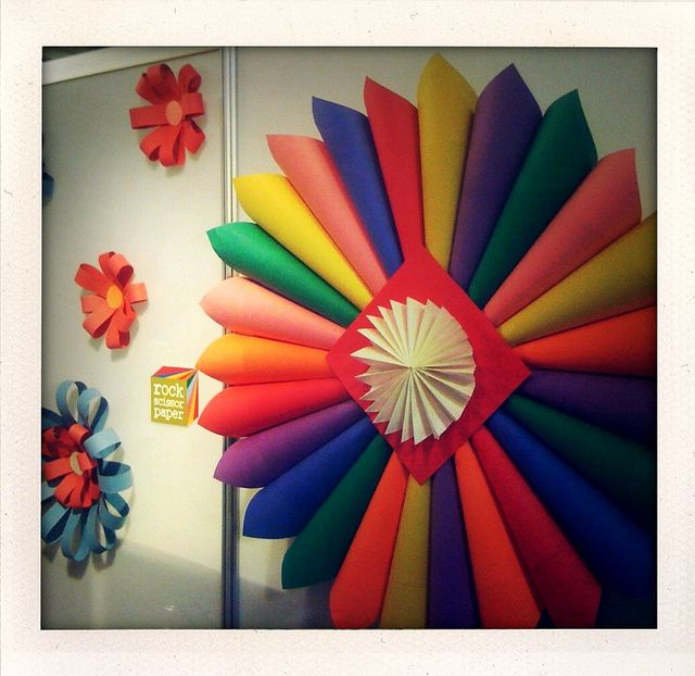 94+ Colour Paper Decoration Colour Paper Decoration - 180cm Wedding ...