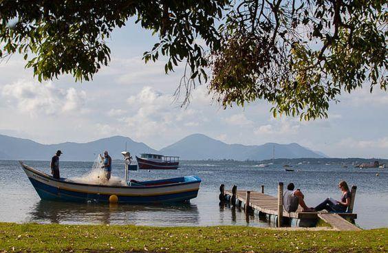 Lagoa da Conceicao, Florianopolis, Brazil: