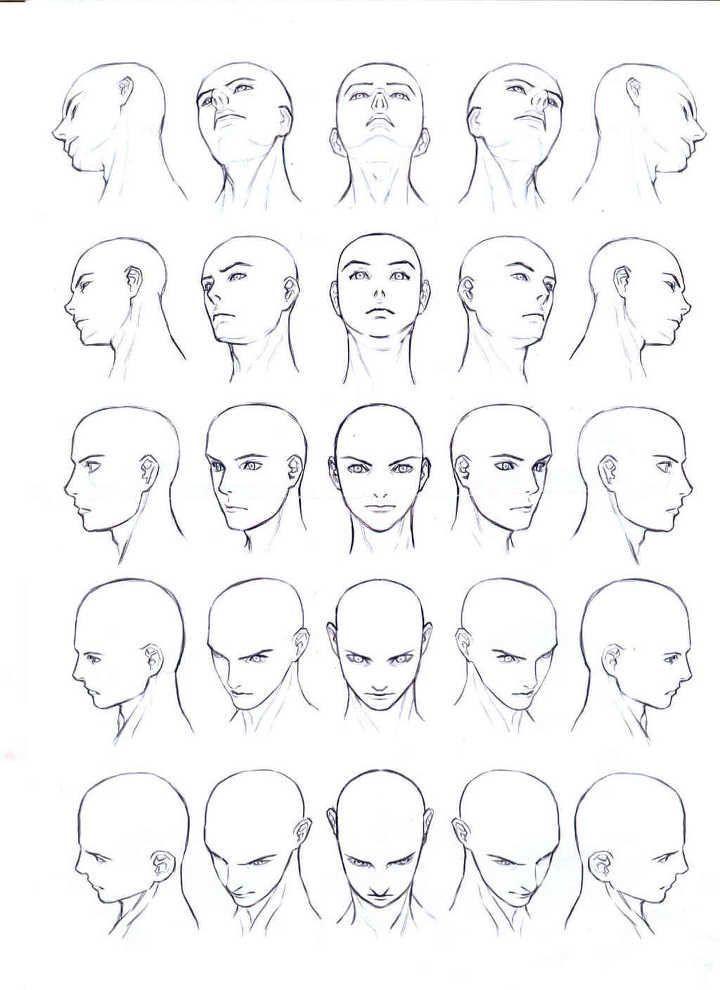 Die Gesichter von Männern und Frauen und menschli…