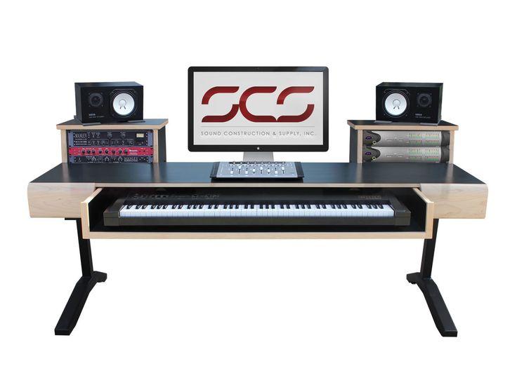 7 best keyboard desks images on pinterest studio desk study desk and keyboard. Black Bedroom Furniture Sets. Home Design Ideas