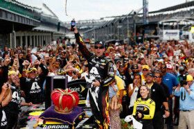 At age 42, Jeff Gordon shows no signs of slowing down Indy Brickyard July 27, 2014