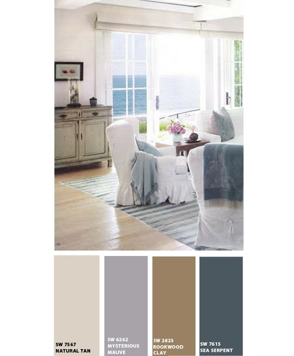 Beach Home Living Room Paint Colors From Sherwin Williams. I Like These  Even Though Part 98