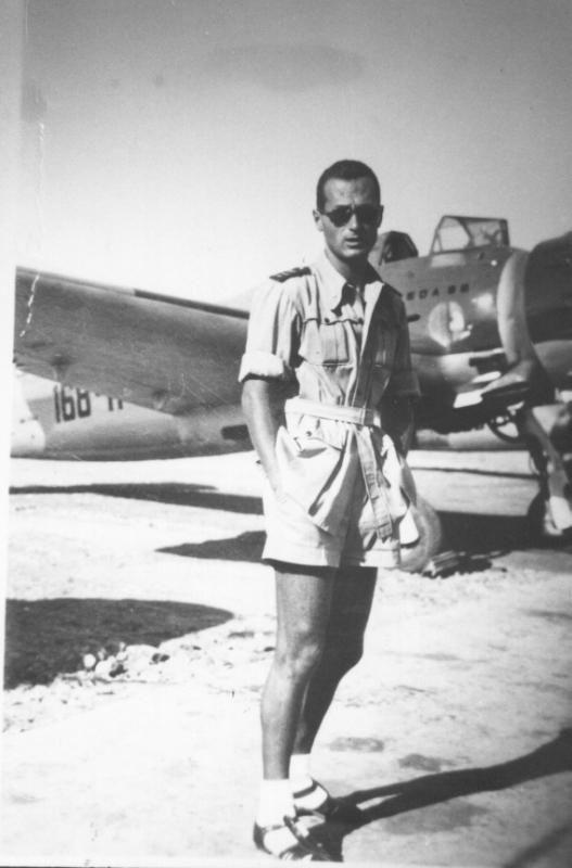 Italian Breda Ba. 65 ground attack bomber and pilot - pin by Paolo Marzioli