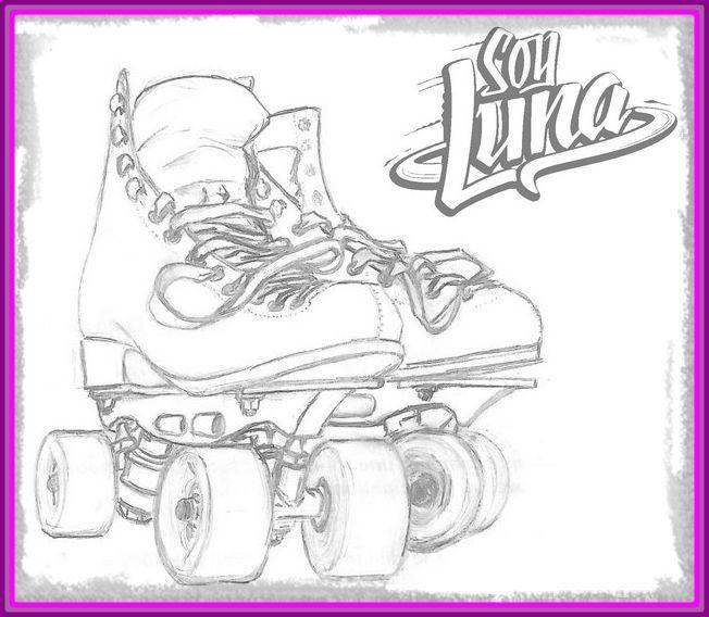 dibujos de soy luna para colorear  bilder zum ausmalen