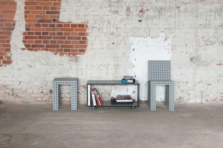 3+ system - Nowa Papiernia  photo: Jędrzej Stelmaszek  stool: https://shop.zieta.pl/pl,p,27,94,_stool.html  box: https://shop.zieta.pl/pl,p,27,98,_box.html  chair: https://shop.zieta.pl/pl,p,27,96,_chair.html
