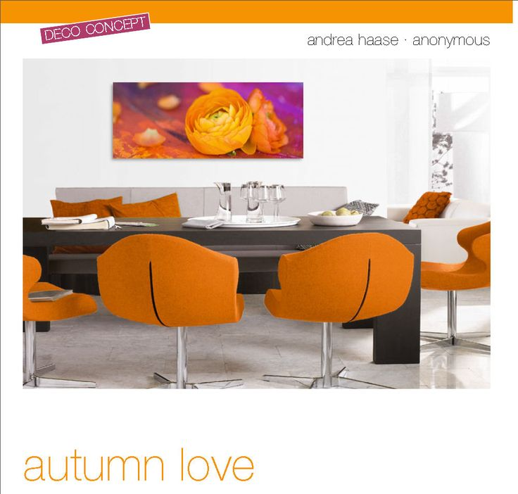 "DECO GLAS ""AUTUMN LOVE' 125x50cm.  € 95,90"