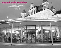 Grand Café Mahler is gevestigd aan de voorzijde van het monumentale Musis Sacrum. Het is dé locatie voor heerlijke koffie, lunch, borrel of diner. Mahler serveert daarnaast een high tea en een wekelijks wisselende daghap: de Mahlerschotel.  Grand Café Mahler is het theatercafé en restaurant van Musis Sacrum & Schouwburg Arnhem. U kunt regelmatig rekenen op gratis optredens of culturele activiteiten. Info: www.mssa.nl