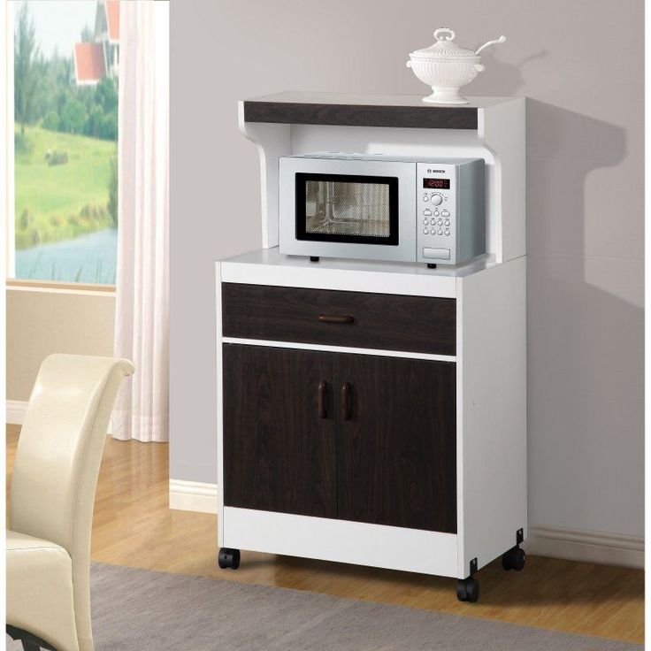 Home Source Portable Microwave Kitchen Cabinet - 15