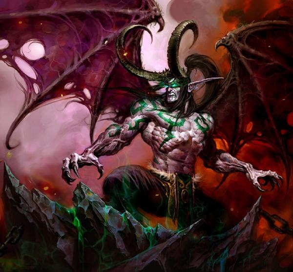 illidan storm rage - Google Search   Warcraft board game ...