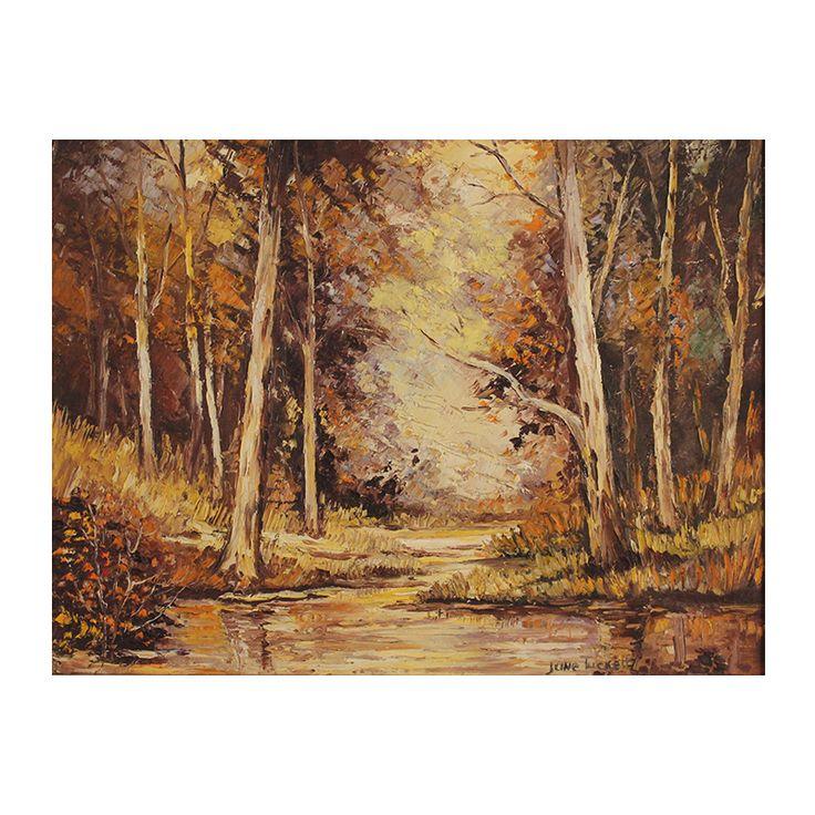 June Tuckett: Trees