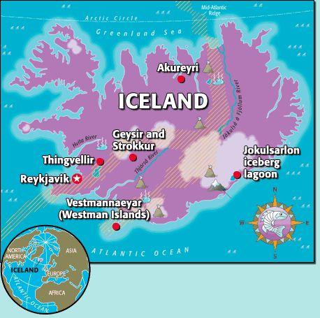 kids world travel guide iceland