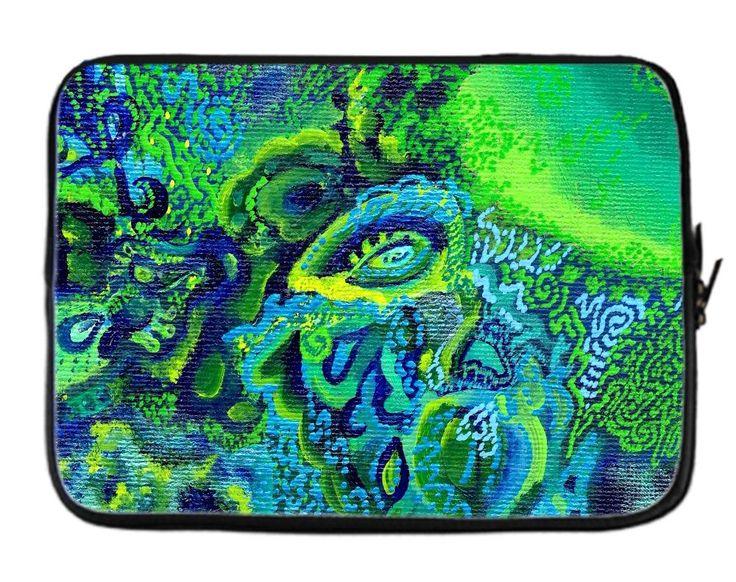 Emerald Kingdom Laptop Sleeve