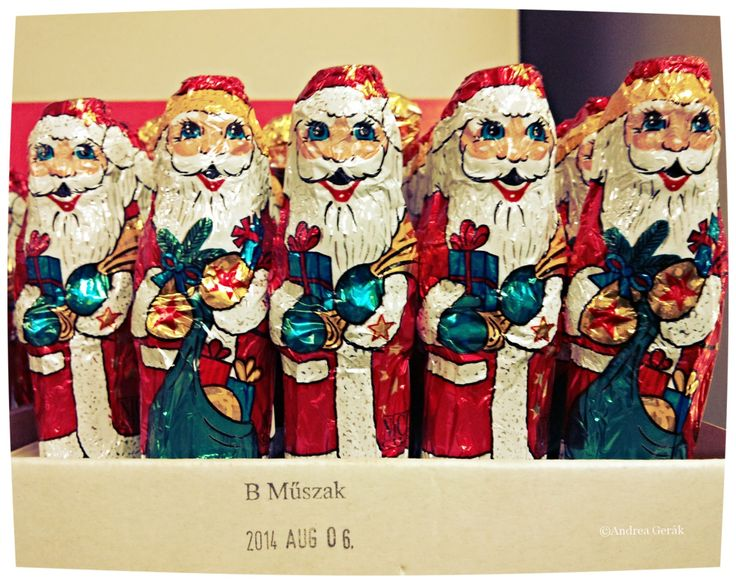 Happy December 6! These little chocolate Santas are common in Hungary, the Czech Republic, Slovakia, Romania and Slovenia. On the 6th of December, it is Mikulás(a cute name for St. Nicholas) who i...