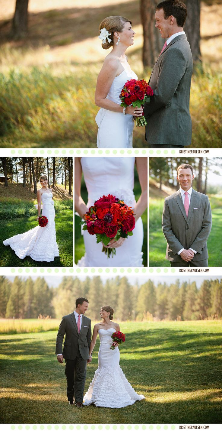 Sara and Ryan's Seeley Lake, Montana wedding.   www.kristinepaulsen.com