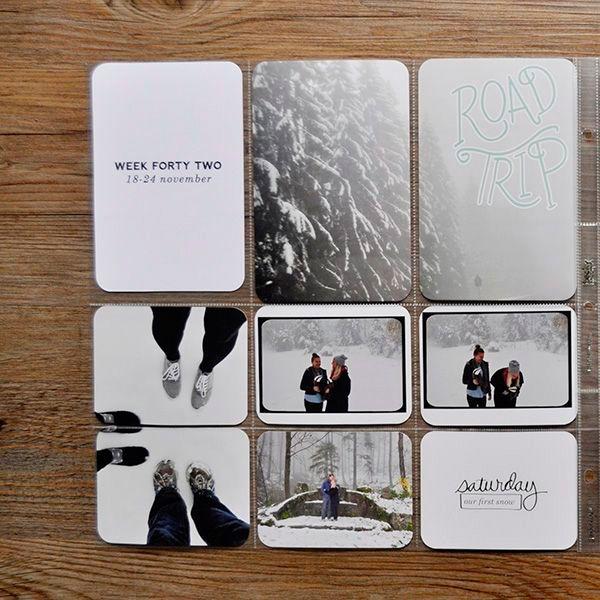 Scrapbooking minimalista. I love it | El tarro de ideasEl tarro de ideas