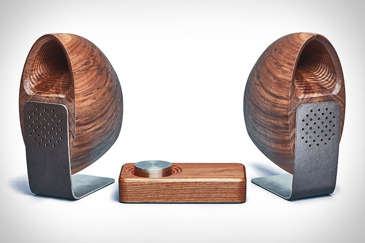 Created in collaboration with industrial designer Joey Roth, the Grovemade Wooden Speaker System uses its natural material to full effect. Each set's enclosures are crafted one at a time in Portland using CNC machining and hand forming, leaving the interior...