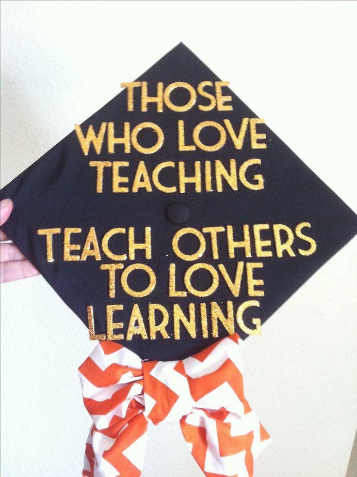 Graduation cap! #graduation #chevron #graduationcap