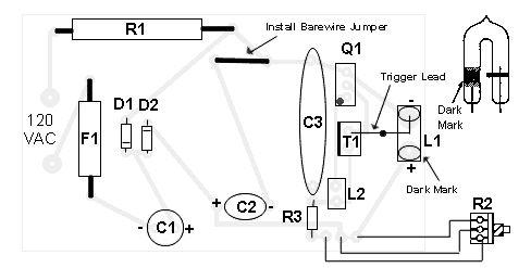Adjustable Strobe Light :: circuit diagrams (con imágenes