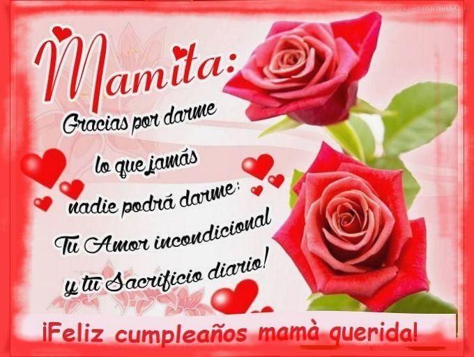 Pin En Cumpleaños Para Mama