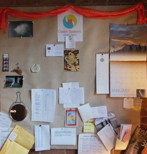 Using Feng Shui To Organize A Bulletin Board Home Ideas