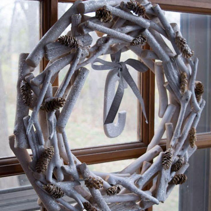 Rustic Wooden Wreath
