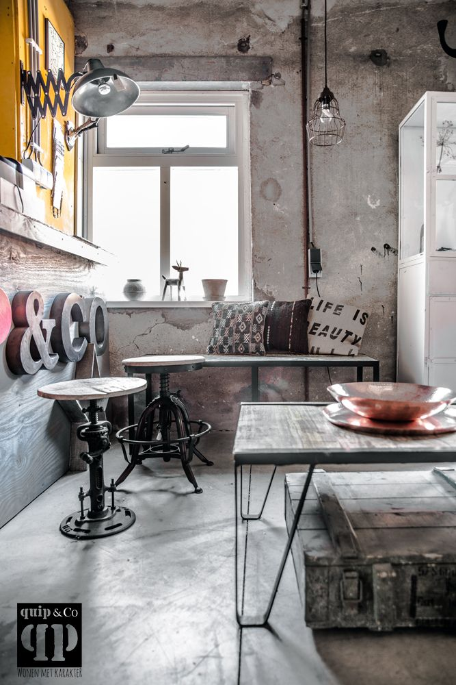 Ethnic And Industrial Furniture At Quip Co Netherlands Picture By Paulina Arcklin Www