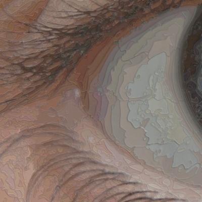 RAMAZAN BAYRAKOĞLU The Eye, 2011 (detail) Mixed Media: Serigraphy ink on plexiglass panel 181 cm x 279.3 cm