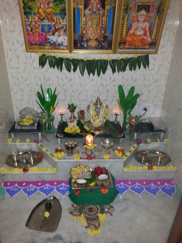 142 Best Pooja Setup Images On Pinterest Prayer Room