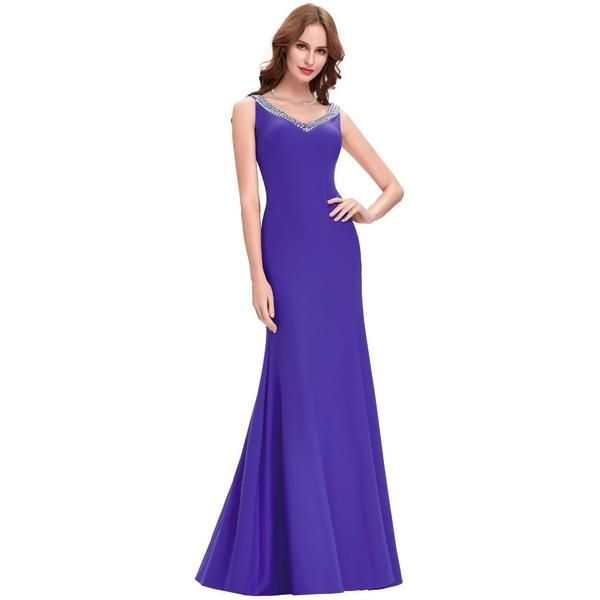 Formal Elegant Sexy Backless ladies gown
