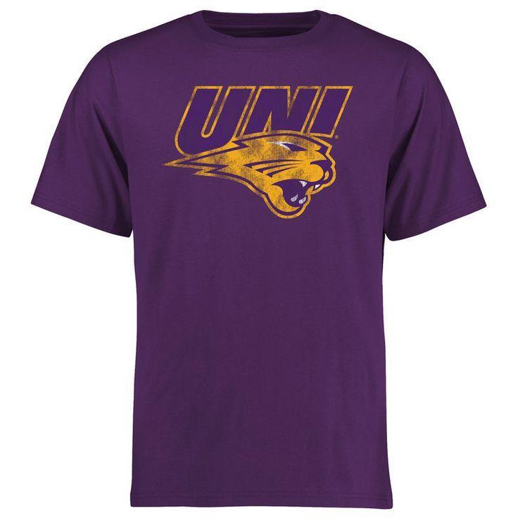 Northern Iowa Panthers Big & Tall Classic Primary T-Shirt - Purple