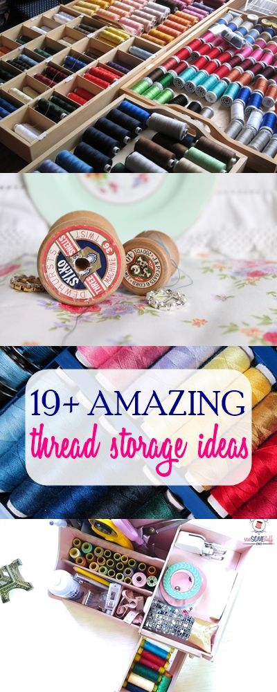 thread storage ideas | thread organization | thread spool storage | sewing room
