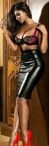 17 bästa bilder om leather skirt på Pinterest | Jean paul gaultier ...